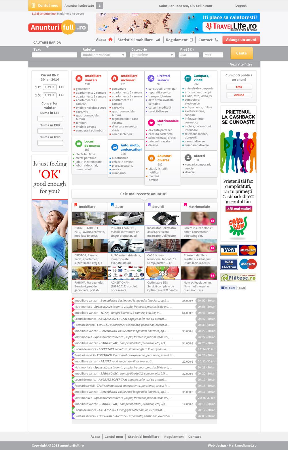 Anunturifull.ro - portal de anunturi gratuite