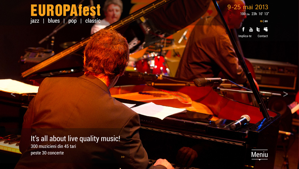 EuropaFest - Festival International de Jazz, Blues, Pop, Clasic