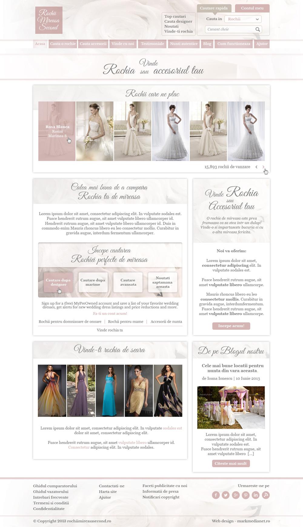 Rochii Mireasa Second - vinde-ti rochia de nunta