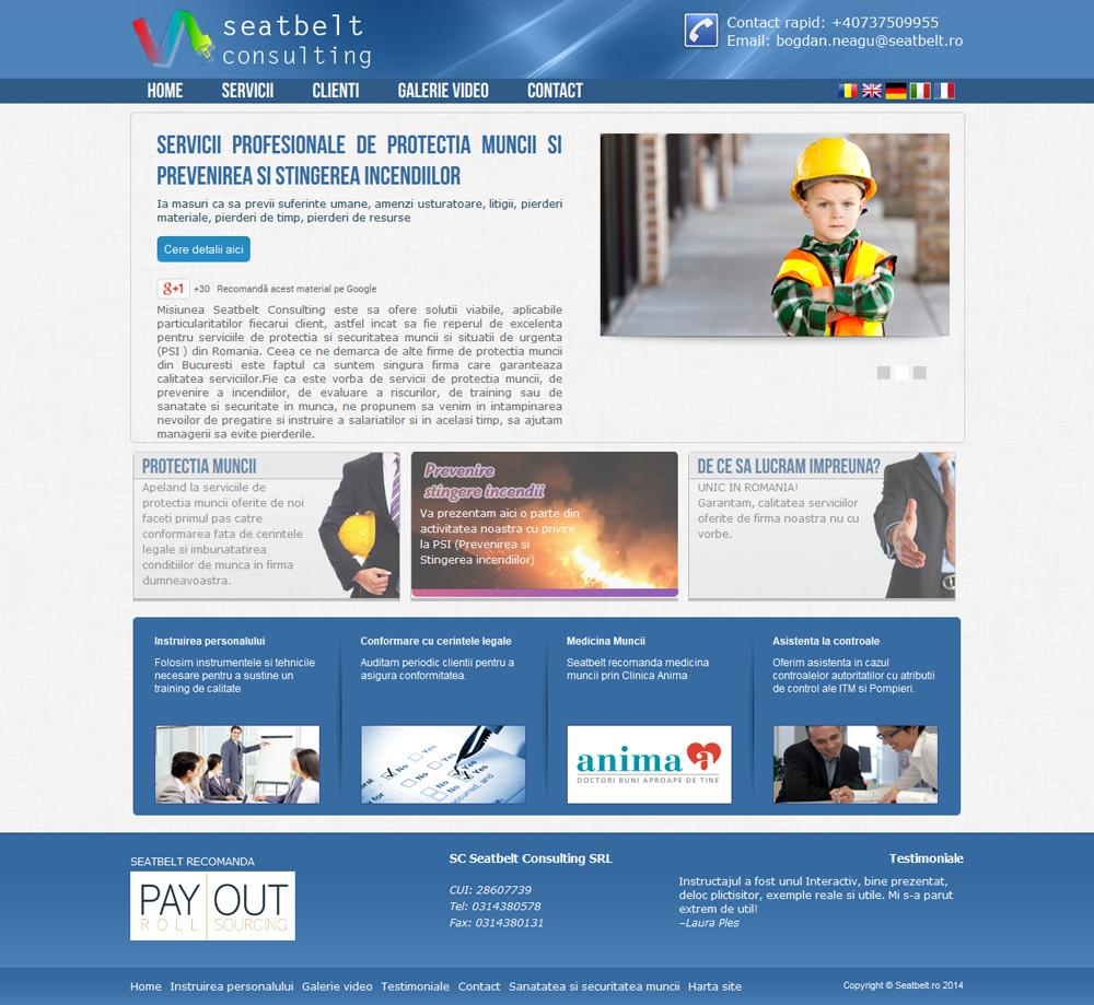 Seatbelt Consulting - Servicii de Protectia Muncii in Bucuresti