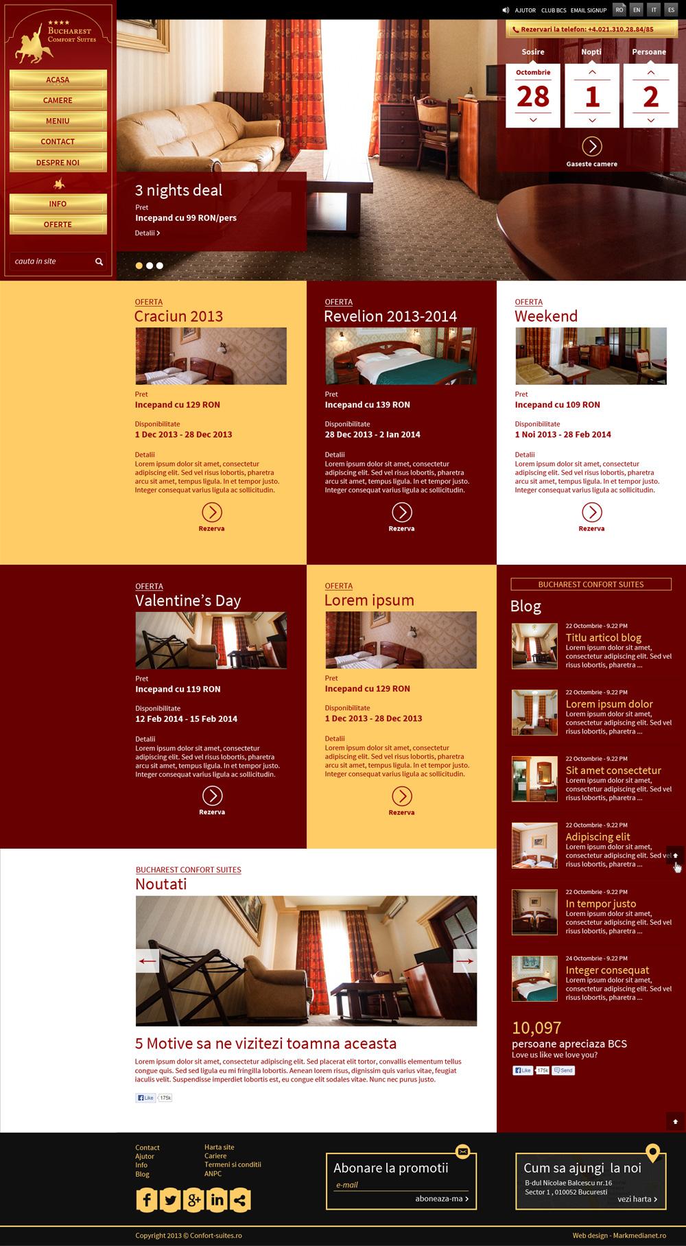 Comfort Suites - Hotel in Bucuresti, Piata Universitatii