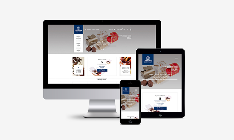 Leonidas - magazin online al primului francizor Leonidas din Romania