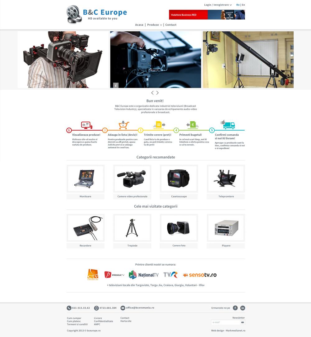 B&C Europe - totul pentru echipamente video